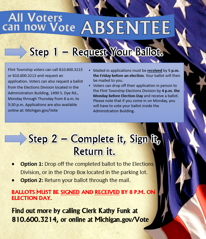 All Voters Can Now Vote Absentee